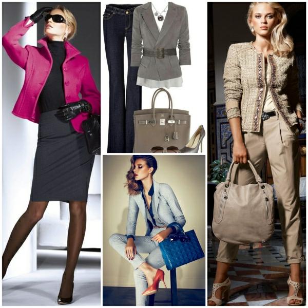 Business Mode Damen halten Sie Schritt mit den