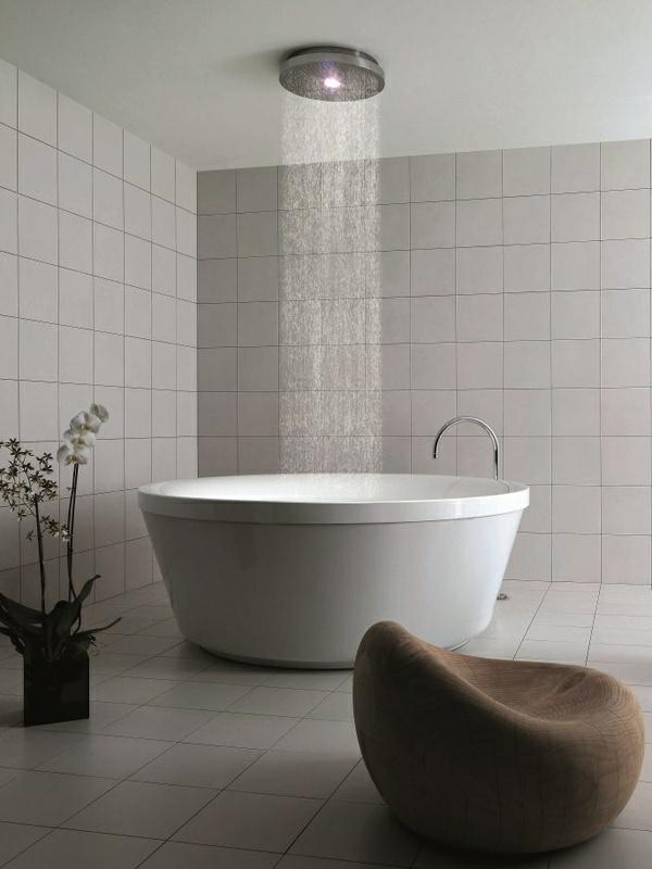 20 Runde Badewanne Designs die das Bad in ein Paredies verwandeln