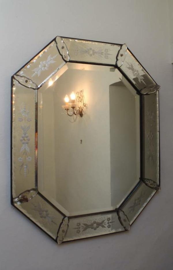 Wandspiegel Design  ein venezianischer Akzent in Ihrem Zuhause