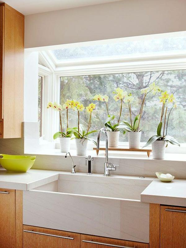 dekoration fensterbank fenster deko fensterbank deko White Kitchen Sink Faucets