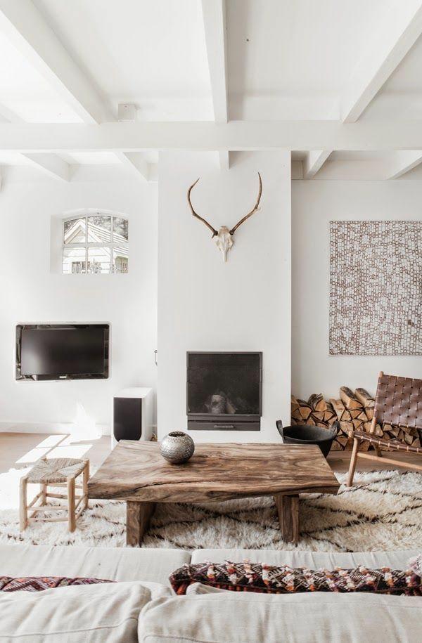 Wohnungsdekoration  im schlichten oder im bunten Stil soll sie sein