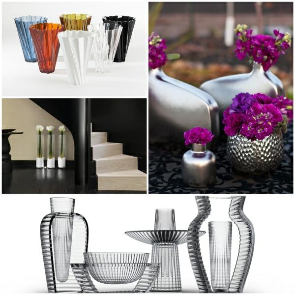 Blumenvasen Deko eine geschmackvolle Weise die Wohnung zu