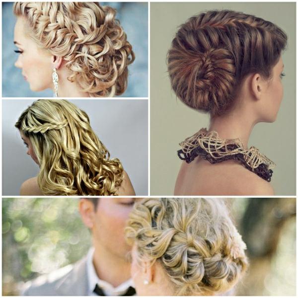 Brautfrisur geflochten  Frisur die Eleganz und Klasse mit sich trgt