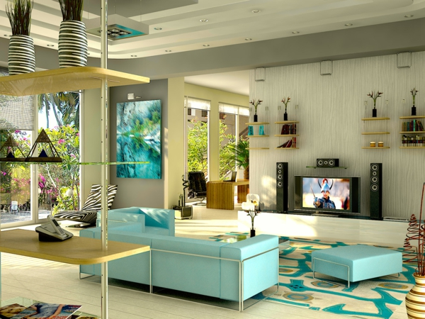 Trkis Wandfarbe Cool Wohnzimmer Grau Trkis Unique Ein Kommentar Zu Im Interior Design Wandfarbe