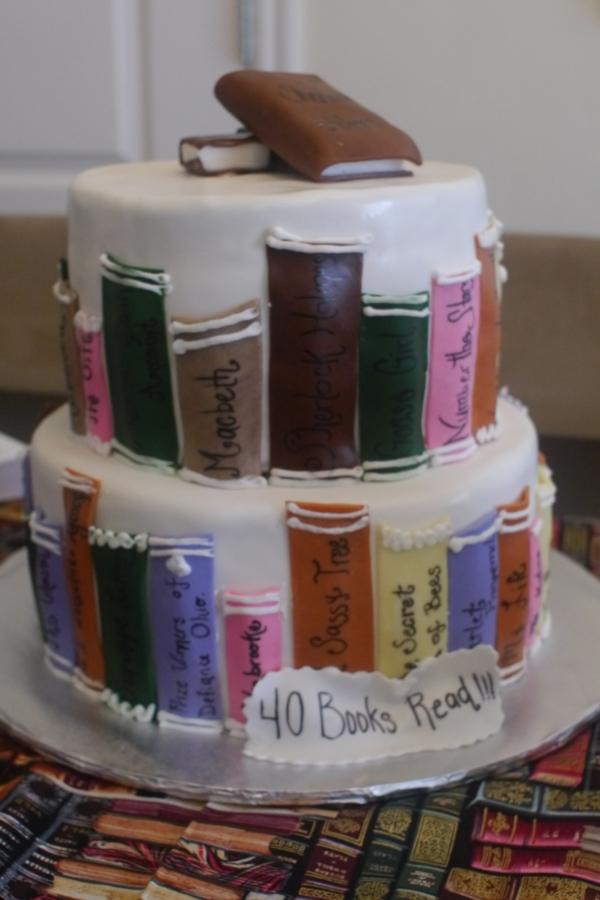 Torten dekorierenIdeen fr buchfrmige Torte und passende