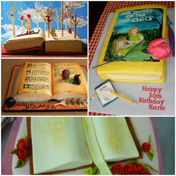 Torten dekorierenIdeen fr buchfrmige Torte und passende Anlsse