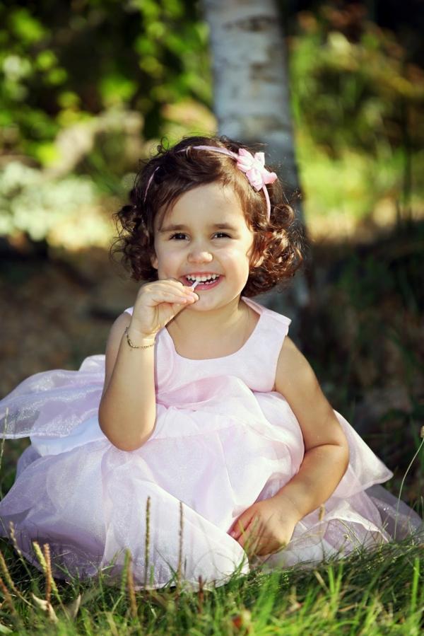 Kinderfrisuren Hochgesteckte Lange Oder Kurze
