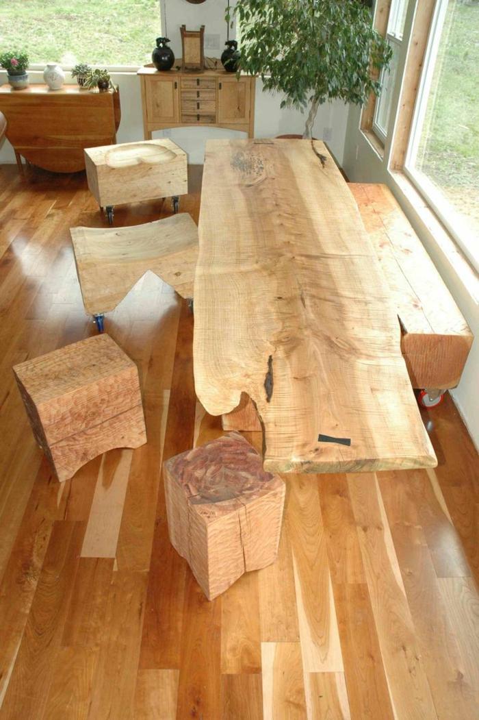 Massivholzmbel fr eine ausgelassene und sthetische Einrichtung