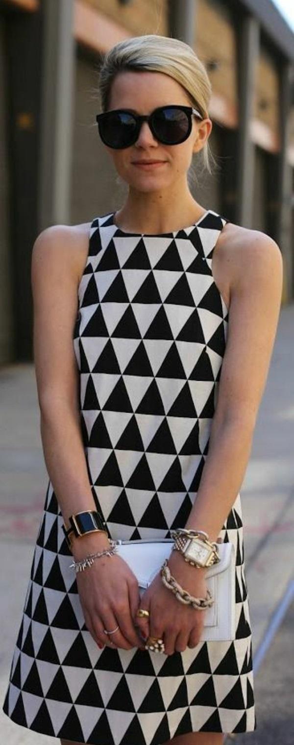 Schminktipps wenn man ein schwarzweies Kleid trgt