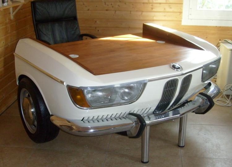 DIY Mbel aus Autoteilen so wird das Auto zum Wohnaccessoire