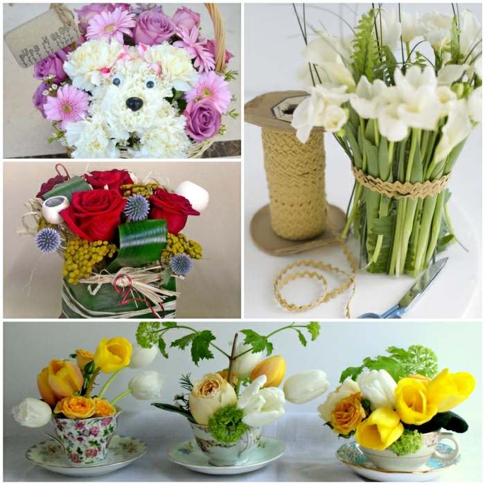 Blumengestecke selber machen und eine duftende Dekoration