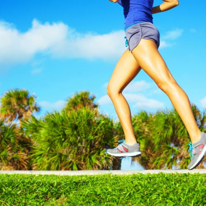 An den Beinen abnehmen durch die richtige Motivation