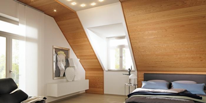 Wand und Deckengestaltung mit Paneelen
