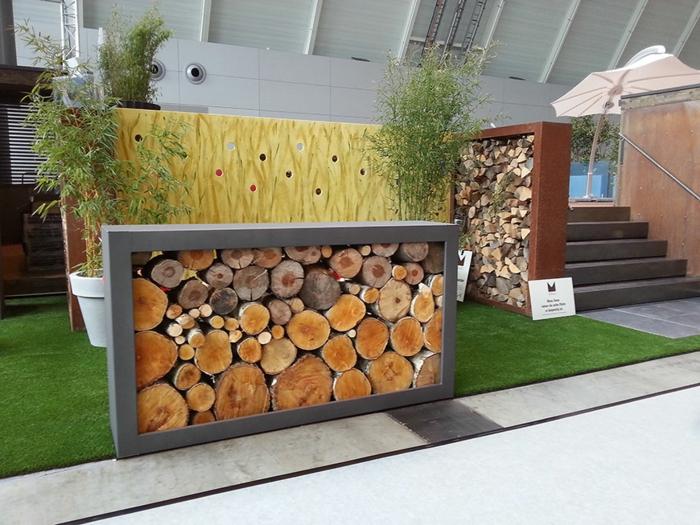 Paravent Garten  innovative und kreative Gartengestaltung