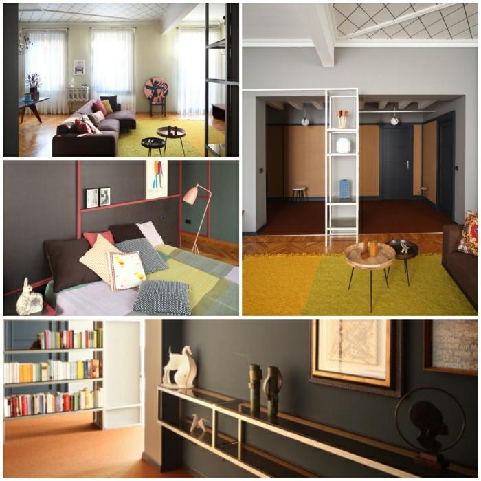 dachgeschoss gestalten innovative ideen wohnzimmer - boisholz - Wohnzimmer Renovieren Und Einrichten Ideen