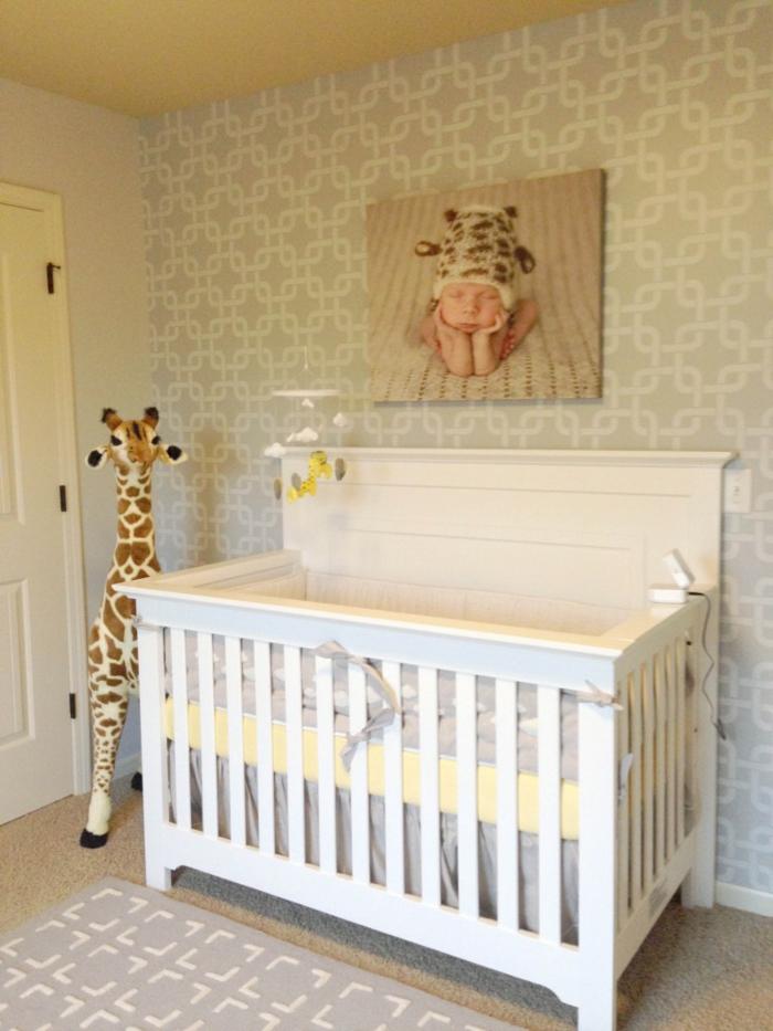 Babyzimmer gestalten  neutrale Farben passen fr Mdchen und Jungen