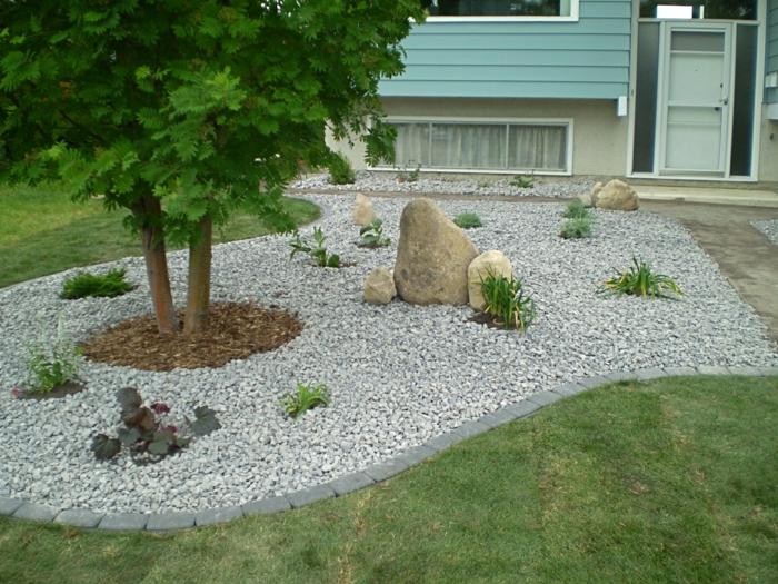 Gartengestaltung Mit Steinen Und Pflanzen Gartengestaltung Mit ...