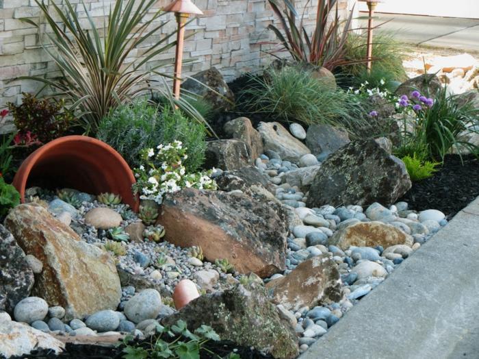 Steine Im Garten Selbst Gemacht Mystical Brandforesight Co