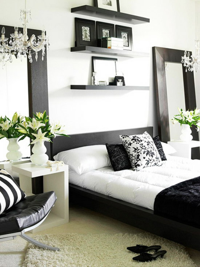 schlafzimmer dekorieren 55 ideen f r wandgestaltung co moderne schlafzimmer ideen. Black Bedroom Furniture Sets. Home Design Ideas
