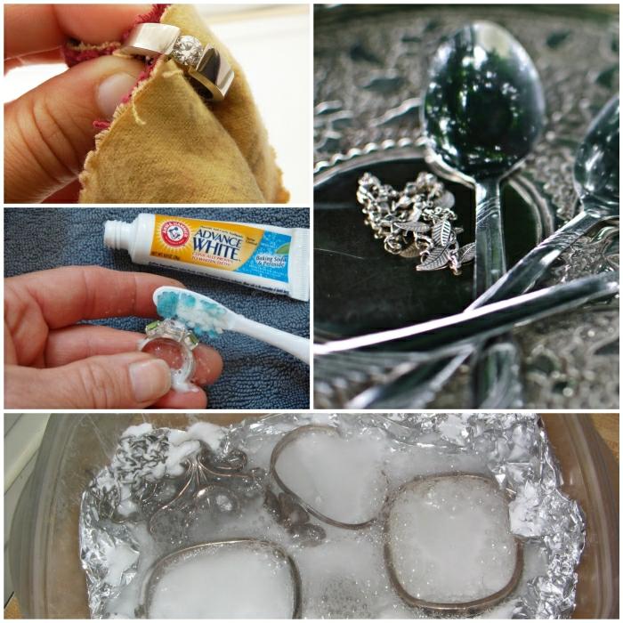 Silber reinigen  Tipps und Tricks mit wirksamen Hausmitteln