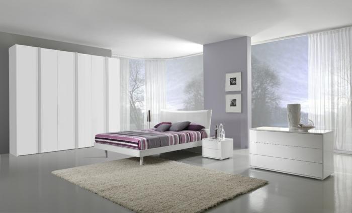 Minimalistische Einrichtungsideen Weises Esszimmer