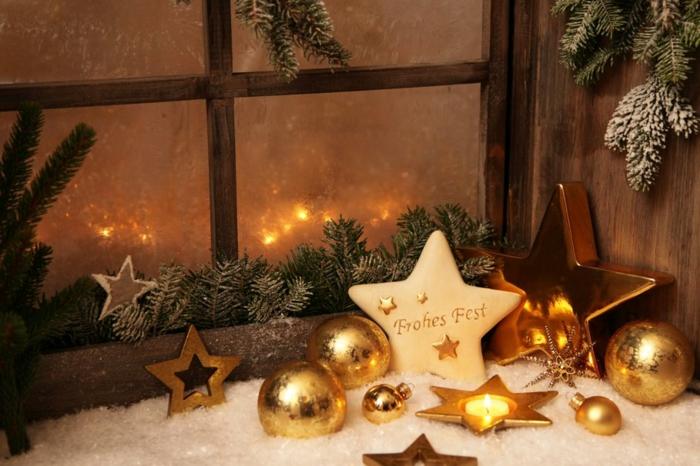 Fensterdeko Weihnachten  wieder mal tolle Ideen dafr