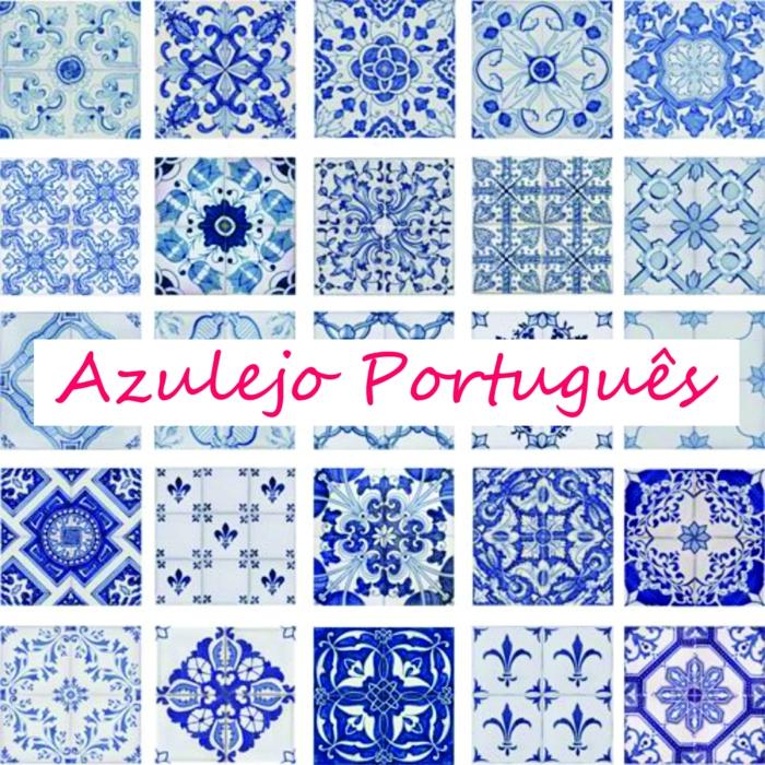 Portugiesische Fliesen Azulejo in der modernen