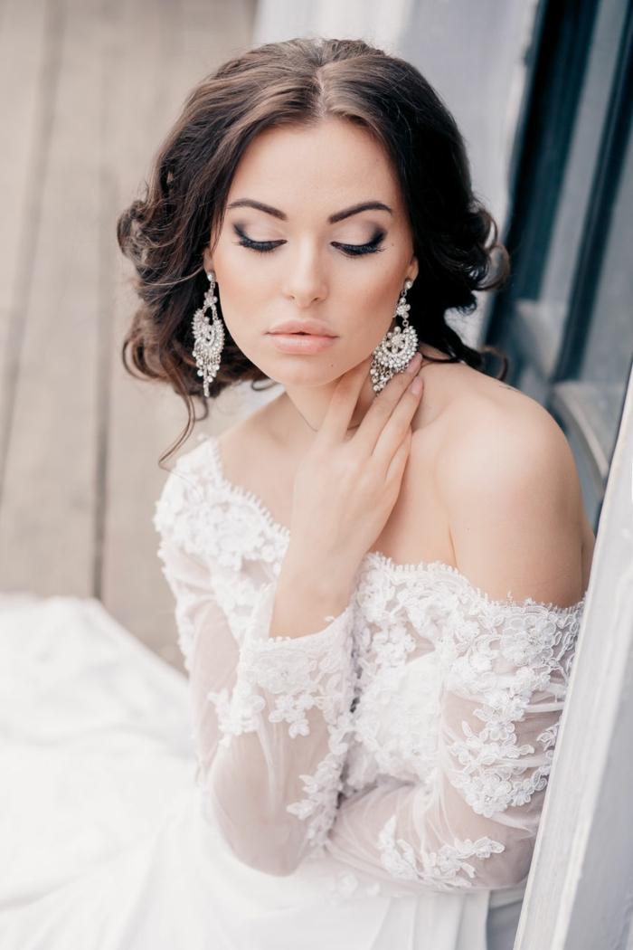 55 Brautfrisuren Stilvolle Haarstyling Ideen fr lange Haare