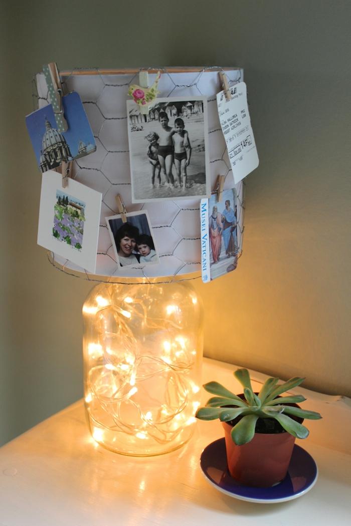 DIY Lampe  40 verlockende und interessante Bastelideen