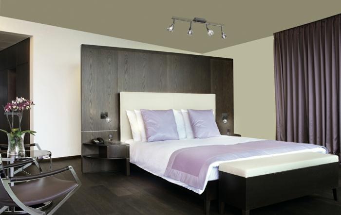 Schlafzimmergestaltung  42 Beispiele fr eine passende Beleuchtung