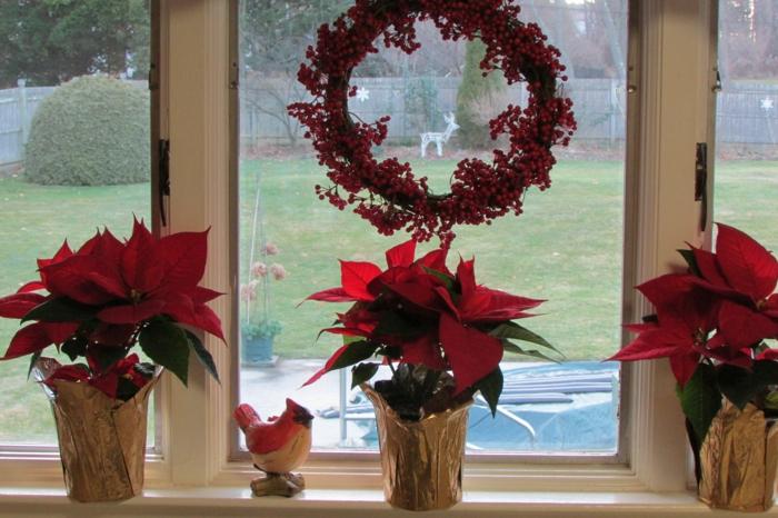 Fensterbank Deko  die Farben der Natur durch Pflanzen nach Hause holen