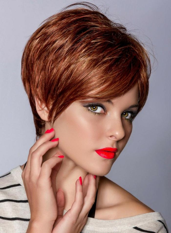 Kurze Haare Frauen Frisuren