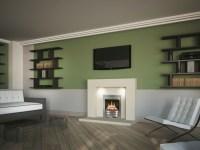 Wandgestaltung Wohnzimmer - mutige und moderne Wahl!