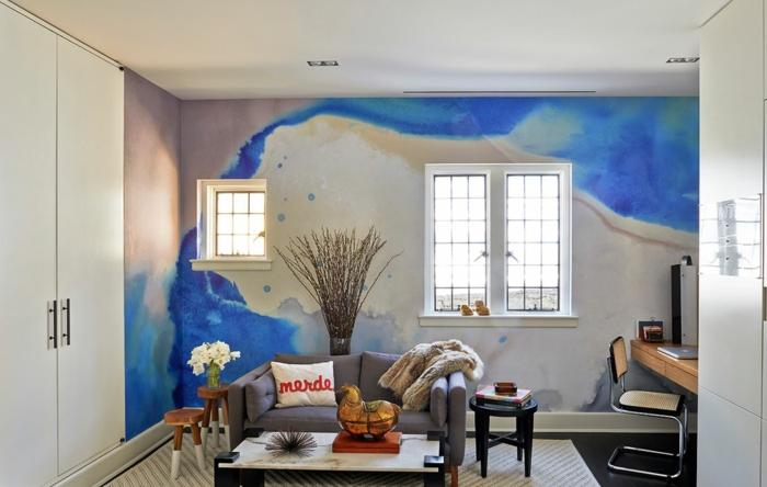 32 Wandfarben Ideen Mit Aquarell Die Sie Begeistern Werden