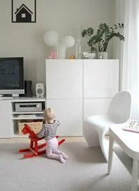 Ikea Besta Einheiten in die Inneneinrichtung kreativ