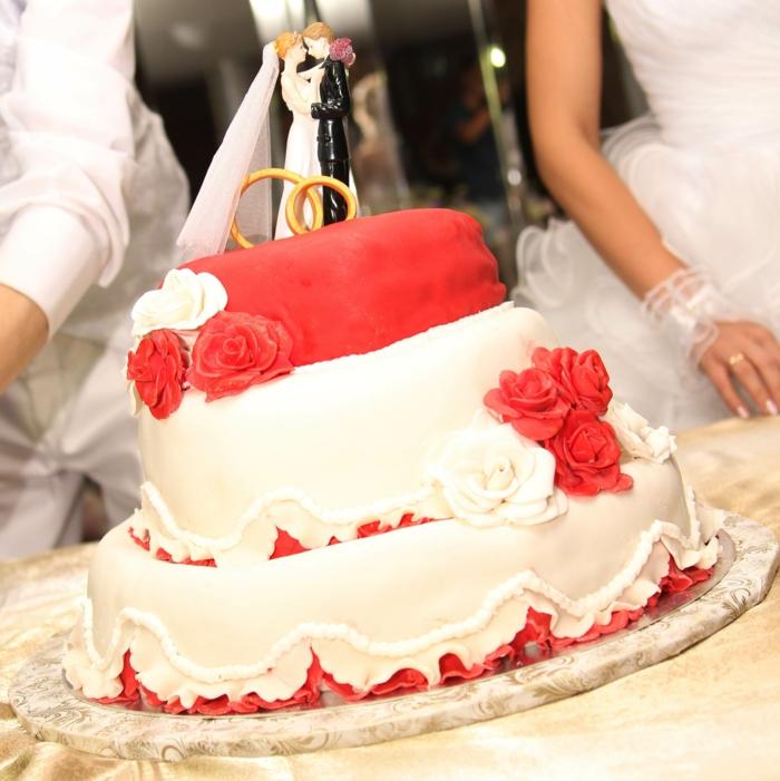 120 Dekoideen fr Hochzeitstorte  Feste feiern mit Chic