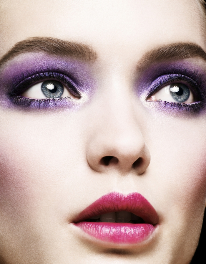 23 Schminktipps fr Augen in trendiger Violett Farbe