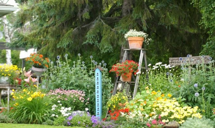 gartendeko selbstgemacht basteln - boisholz, Gartenarbeit ideen