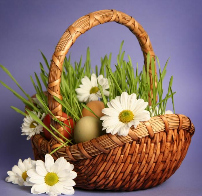 Osterkorb basteln  kreieren Sie Ihre persnliche