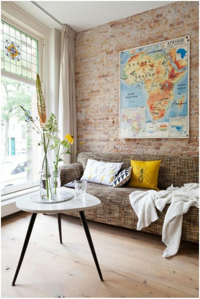Mustertapeten in Mauerwerkoptik fr mehr sthetik und Modernitt