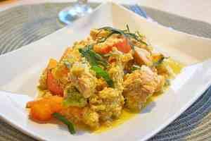 lachs-kürbis-couscous
