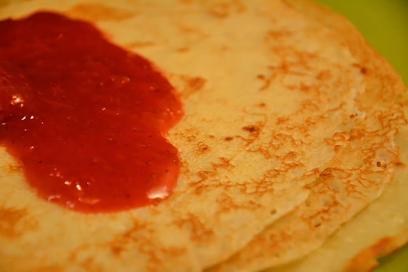 Die passende Marmelade für deine Palatschinken ist Geschmackssache.