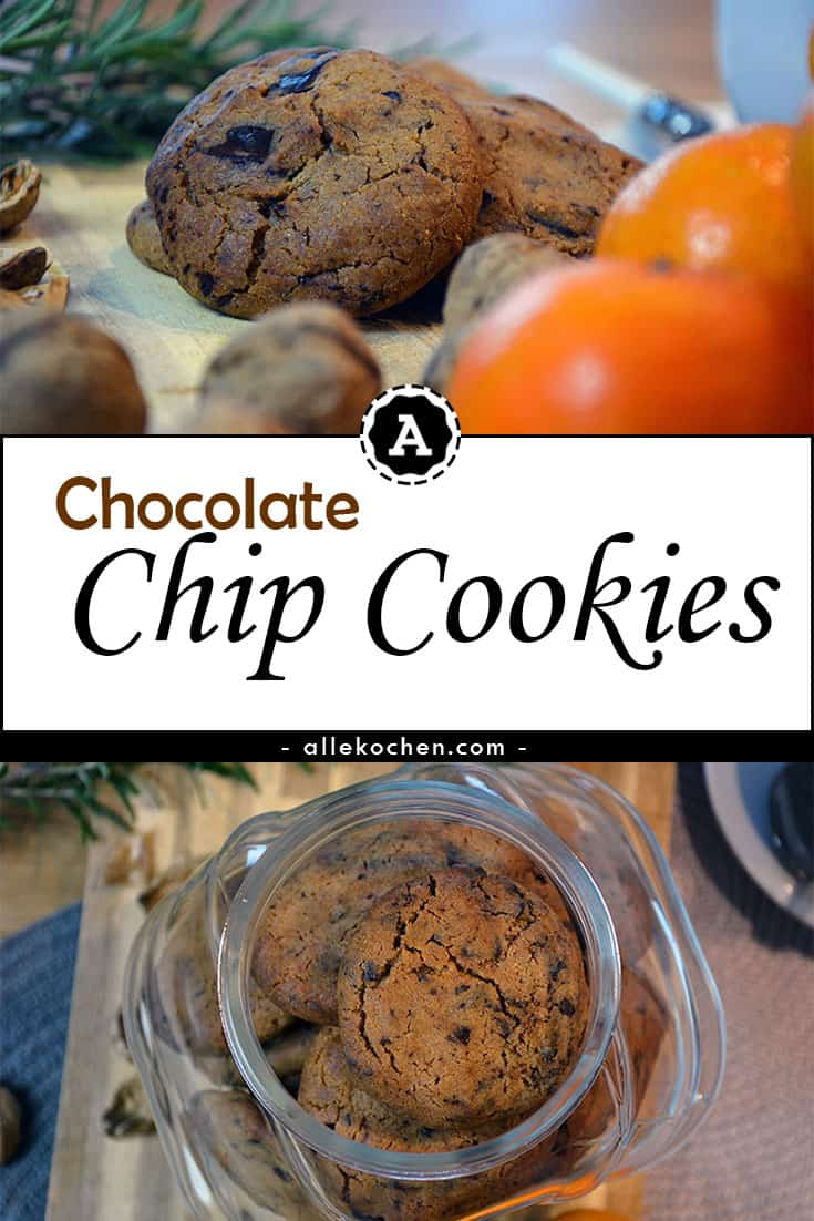 Die ultimativen Chocolate Chip Cookies