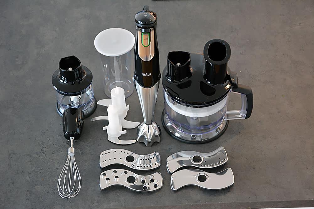 Der Braun Multiquick 7 MQ 785 ist der ideale Freund in der Küche