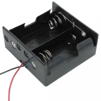 2 AA BATTERY HOLDER | All Electronics Corp.