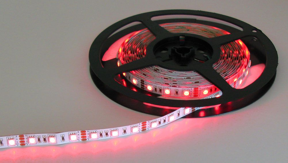 RED/GREEN/BLUE 12V LED STRIP   All Electronics Corp.