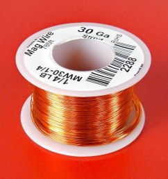 30 awg magnet wire 1 4 lb roll [ 1000 x 847 Pixel ]