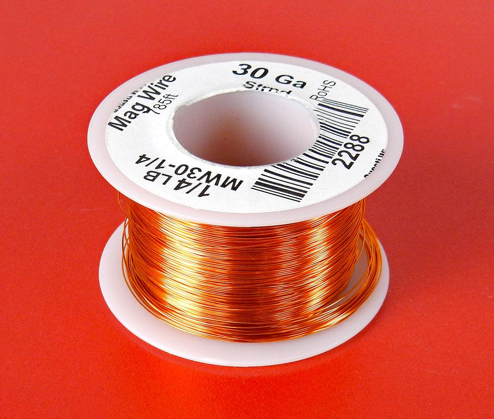 medium resolution of 30 awg magnet wire 1 4 lb roll