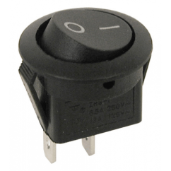 6 Wire Toggle Switch Rs232 To Rs485 Wiring Diagram Spst Round Rocker | All Electronics Corp.
