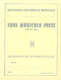 Edizioni PUCCI in sola partitura